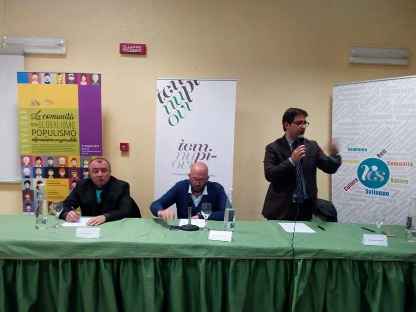 Grande successo per il convegno su comunit globalismo e for Hotel del santuario siracusa