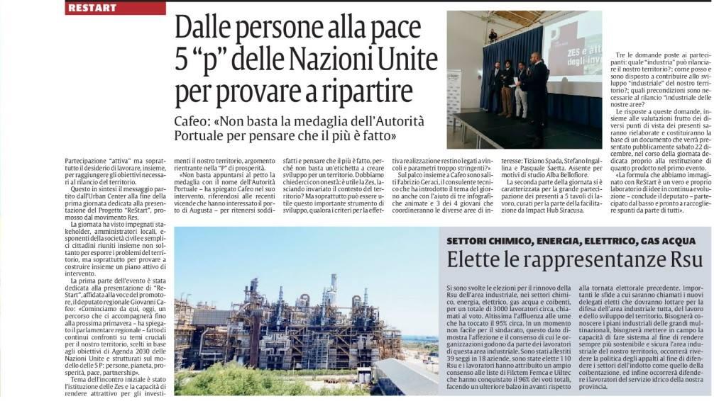 La Sicilia - ReStart