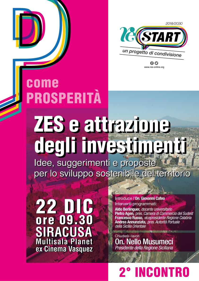 Res | Zes e attrazione degli investimenti