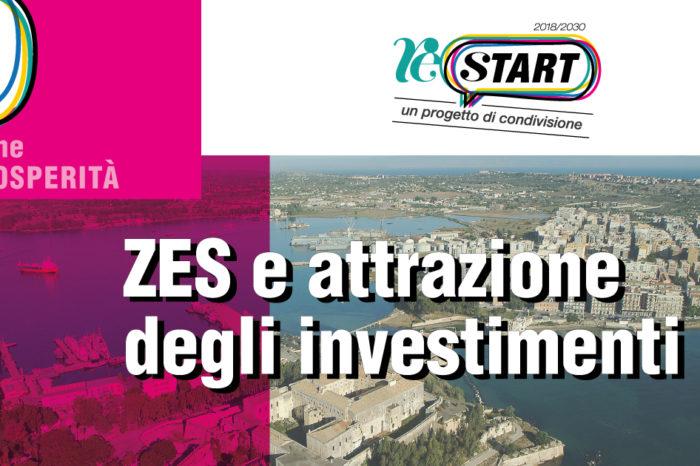 ReStart, un progetto di condivisione. Sabato 8 dicembre Siracusa riparte da Zes e Attrazione degli investimenti