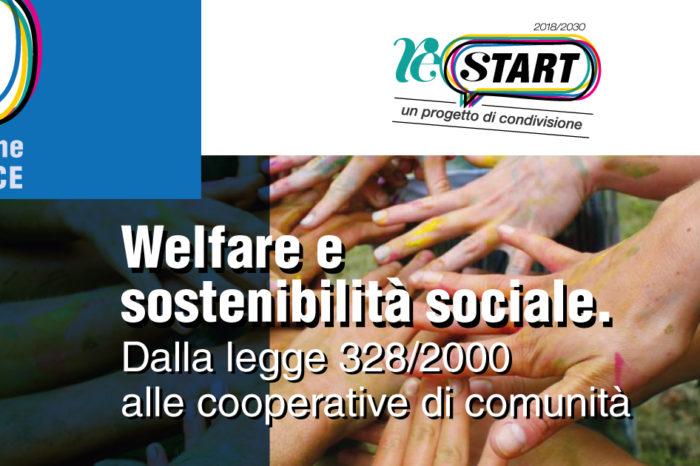 """""""Welfare e sostenibilità sociale - Dalla legge 328/2000 alle cooperative di comunità"""", sabato 2 marzo a Palazzolo Acreide torna l'appuntamento con ReStart"""